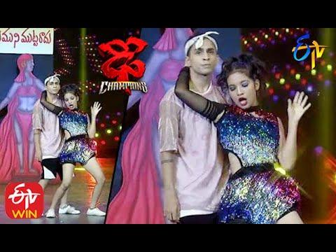 Piyush Performance | Dhee Champions |  26th August 2020  | ETV Telugu