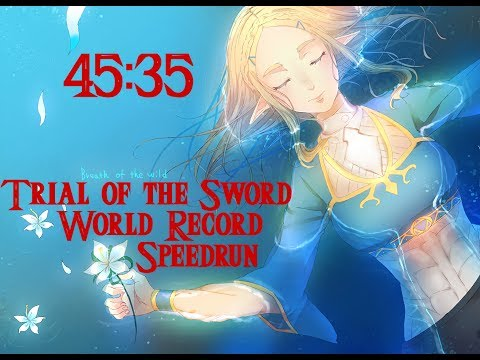 Trial of the Sword World Record Speedrun in 45:35 (07/04/2017)