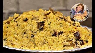 Вкуснейший рис Басмати с Куриной печенью, жаренным луком, орешками и специями. Суперский рецепт.