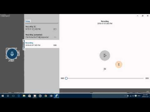 Windows 10 tips and tricks How to use the voice recorder to make audio files and recordings