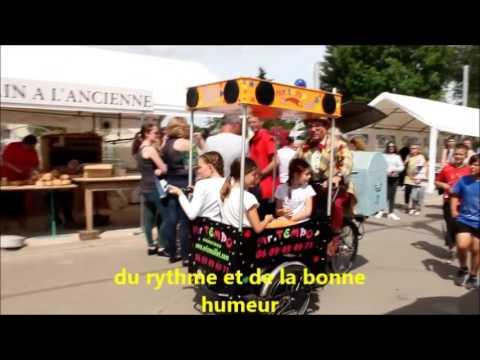 animation de rue en Seine et Marne 77 avec Monsieur Tempo et son triporteur