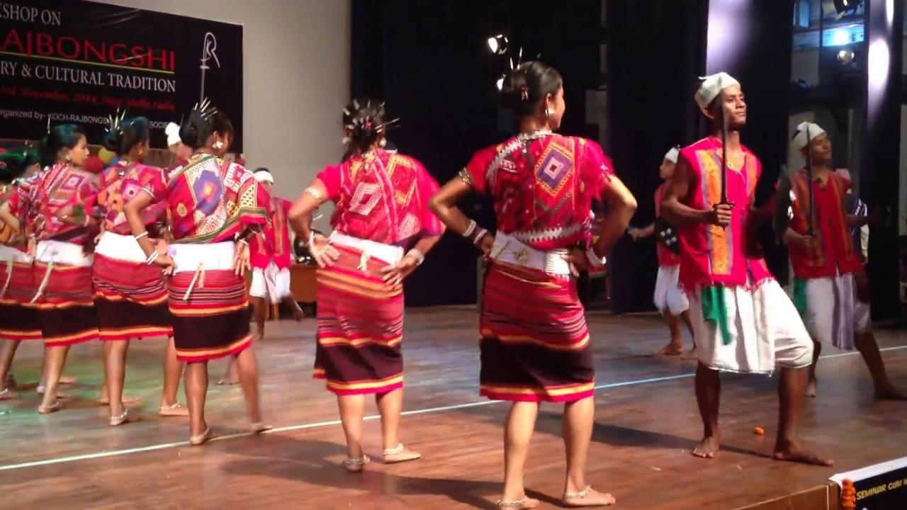 koch cultural dance from meghalaya youtube