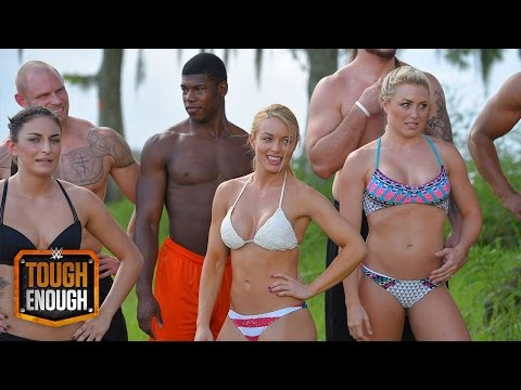The Competitors Sink Or Swim In Newest Challenge: WWE Tough Enough, June 30, 2015