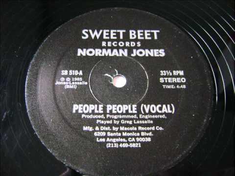 Norman Jones - People People 1985