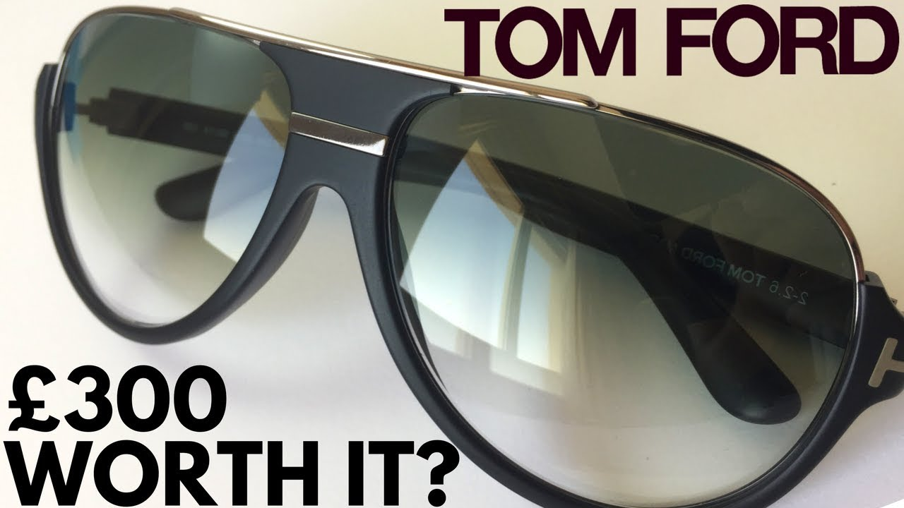 ce773bcbccabf Tom Ford Sunglasses - YouTube