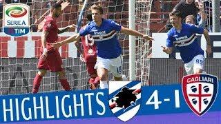 Sampdoria - Cagliari 4-1 - Highlights - Matchday 35 - Serie A TIM 2017/18