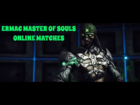 """TELE-SLAM BRUTALITY FROM ANTI-AIR"" - MKX ERMAC MASTER OF SOULS ONLINE MATCHES"