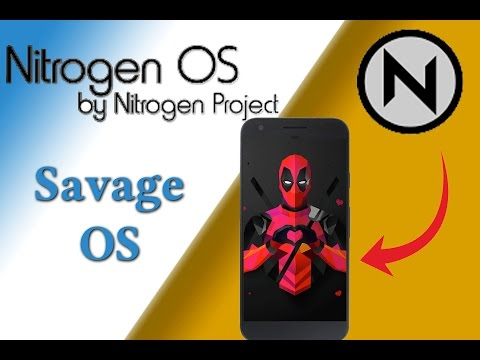 Nitrogen OS :  The Most Minimalistic Nougat ROM | A Quick Overview.