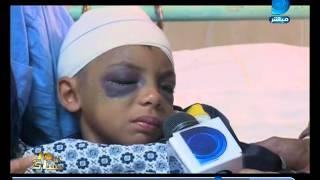 برنامج العاشرة مساء| إصابة طفل بإرتجاج فى المخ بعد سقوط عارضة  بمدرسة بالمنصورة