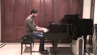 Yohaan recital Bach two part invention.No.14 in B flat major