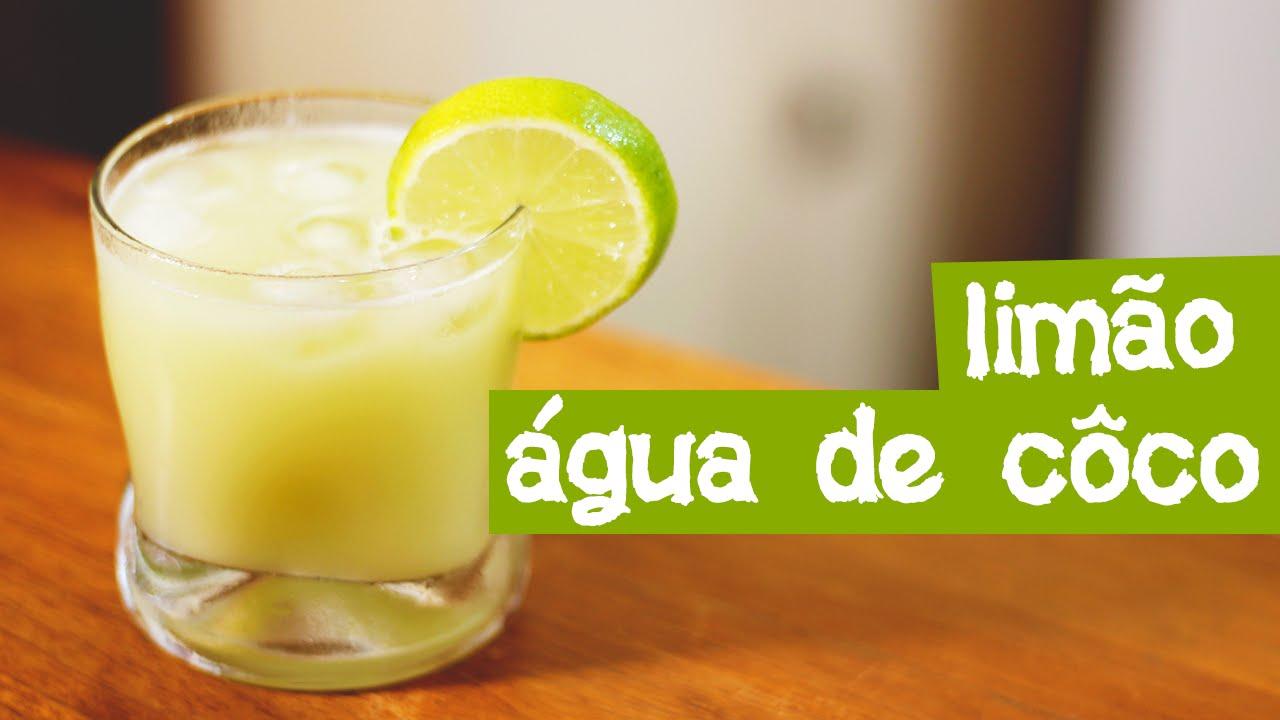 Resultado de imagem para Água de coco e suco de limão