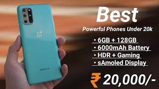 Top 6 Best Powerful PHONES Under 20000 in December 2020 | Best Smartphone Under 20k |6000mAh | 64MP