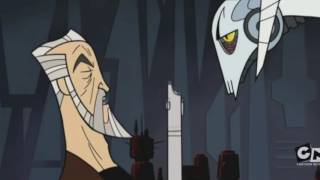 Count Dooku Training General Grievous Full Scene - Star Wars: Clone Wars (2003)
