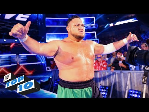 Top 10 SmackDown LIVE moments: WWE Top 10, July 24, 2018