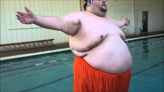 One of boogie2988's most viewed videos: Dramatic Fat Guy Splash