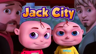Zool Babies Series | Jack City | Police & Thieves Episodes | Cartoon Animation For Children