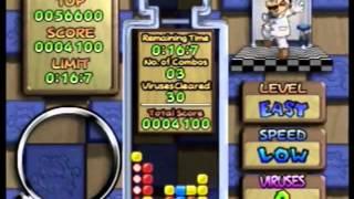 Dr Mario 64 Gameplay