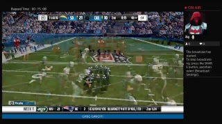 Mynameismyka1's Madden 17 That Nfl Life Chargers Vs Panthers
