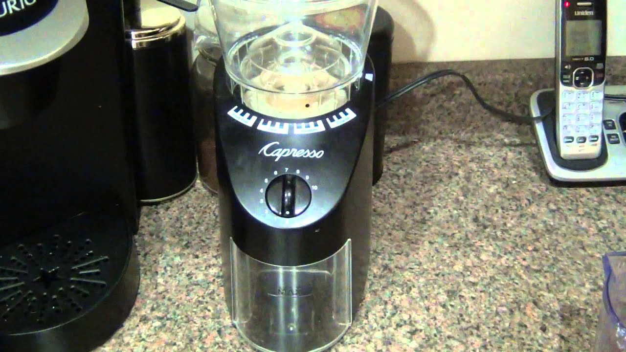 triple burr products infinity capresso free brew coffee maker i tea upscale grinder