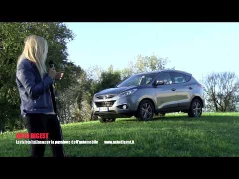 Hyundai ix35 1.7 crdi XPossible test drive