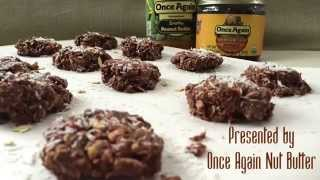 Healthy No-bake Chocolate Oat Cookie