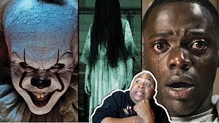 REACTING TO THE 2018 TOP UPCOMING HORROR MOVIE Trailers