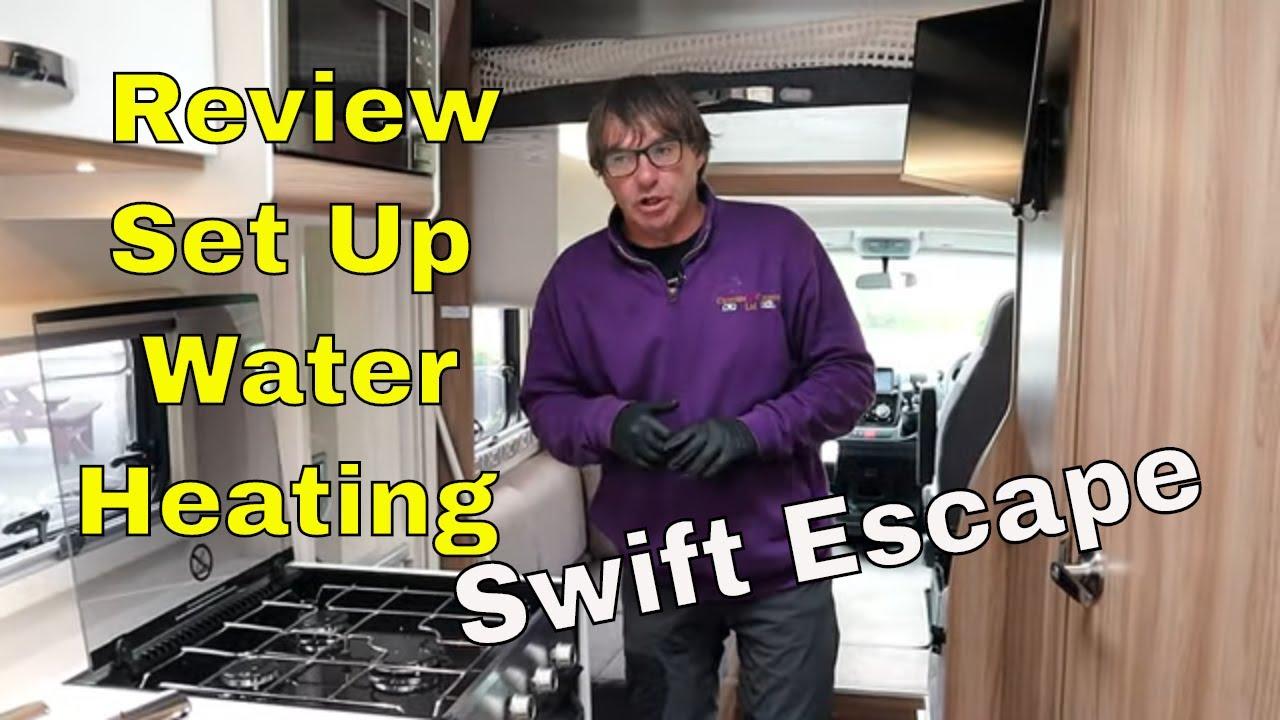 Motorhome Reviews - Swift Escape Motorhome Review (Set Up)