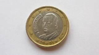 1 Euro Coin :: Spain 2001