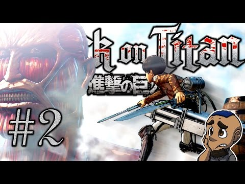 EATEN ALIVE | Attack on Titan (AOT Wings of Freedom) | Part 2 Gameplay Walkthrough PS4 Xbox One
