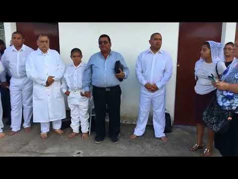 Bautismo Iglesia CRET Filial San salvador, Santa Ana