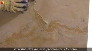 Нанесение 3-x Слойной Венецианки В 3-х Цветном Исполнении. Creama Bianco Wowcolor