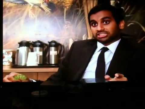 Parks and Recreation - Aziz Ansari food nicknames