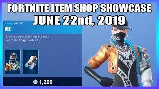 *NEW* BIZ SKIN! (Fortnite Item Shop 22nd June)