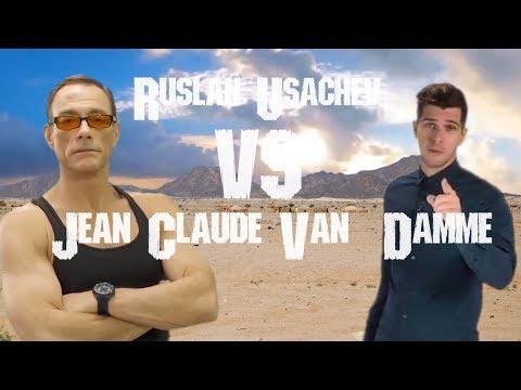 Usachev VS Van Damme #UsachevGreenScreenChallenge
