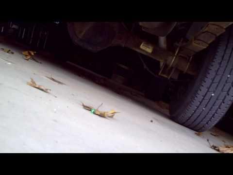 Jeep Cherokee XJ 4.0 No Muffler... Cut Off After the Cat