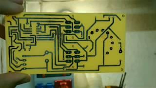 Výroba plošného spoje nažehlením toneru z laserové tiskárny v domácích podmínkách