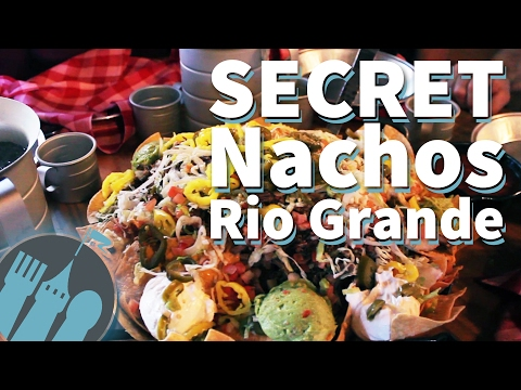 The SECRET Nachos Rio Grande at Pecos Bill Tall Tale Inn and Cafe in Disney World!