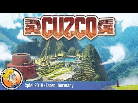 Cuzco — game overview at SPIEL '18
