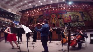Avance del recital de violín y orquesta de cuerdas