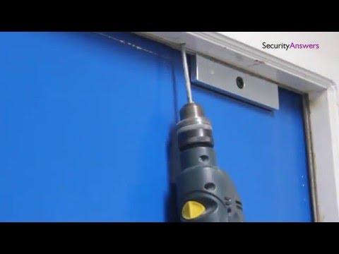 How To Install Electro Magnetic Door Lock Youtube