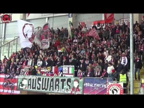 Rb Leipzig vs. SC Paderborn - Away Support @ Benteler-Arena (26.02.2016)