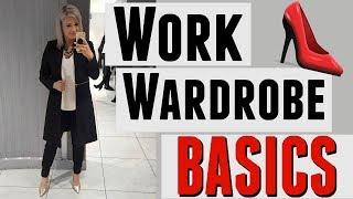 WORK WARDROBE BASICS