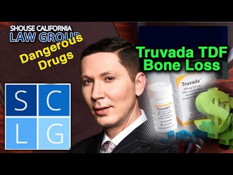 Diagnosing bone loss for a Truvada TDF lawsuit