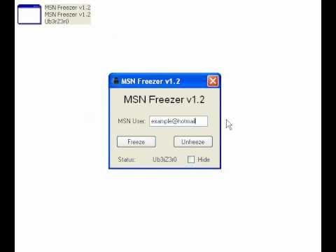 2011 TÉLÉCHARGER MSN FREEZER