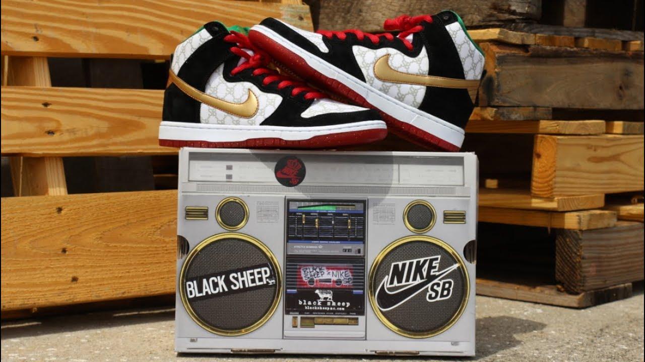 the best attitude 9c25b 4e292 Black Sheep x Nike SB