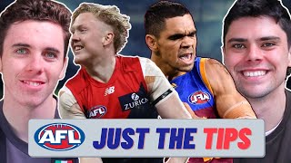 AFL Round 12 Predictions JUST THE TIPS 2021