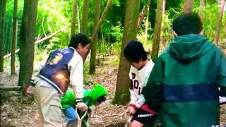 1996年7月20日公開。学校の怪談2出演時の前田亜季さんです。木に登っち...