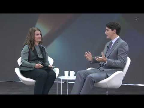 A Conversation with Justin Trudeau and Melinda Gates #GOALKEEPERS17