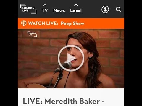 LIVE: Meredith Baker    Maybe I Won t Come Home Tonight    London Live