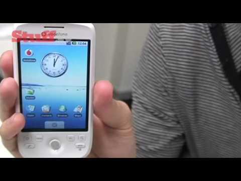 Vodafone HTC Magic  handson video